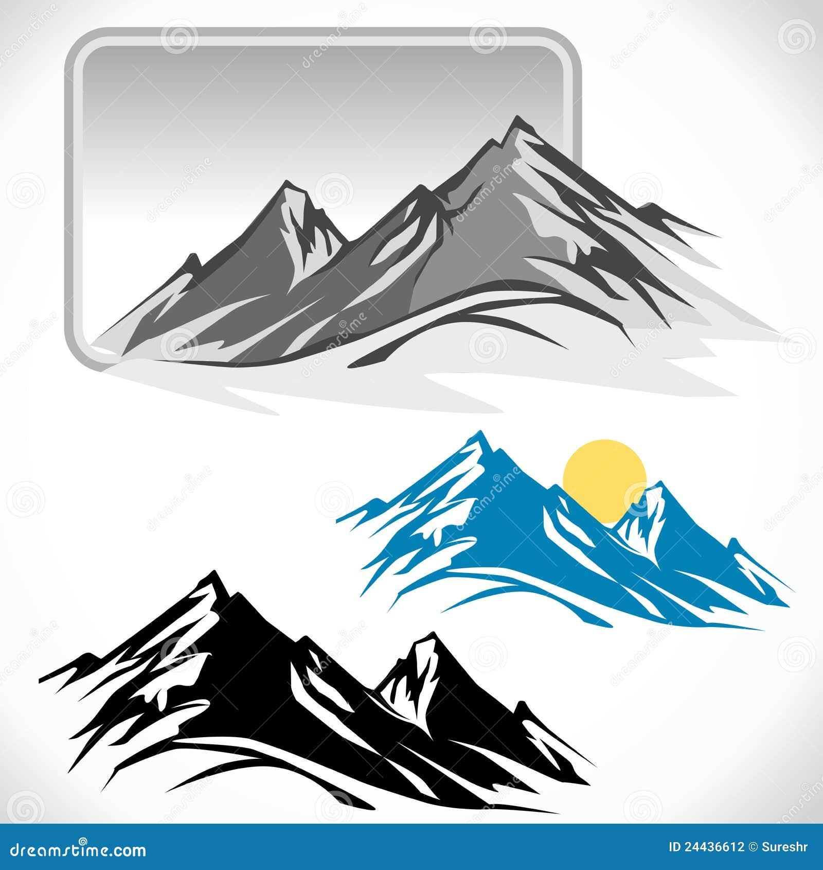 Amazing Glaciers On Mountain Peaks