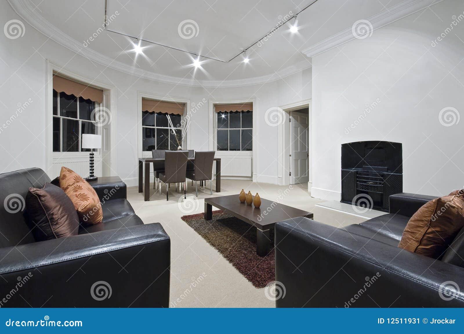 amazing living room stock image image 12511931. Black Bedroom Furniture Sets. Home Design Ideas