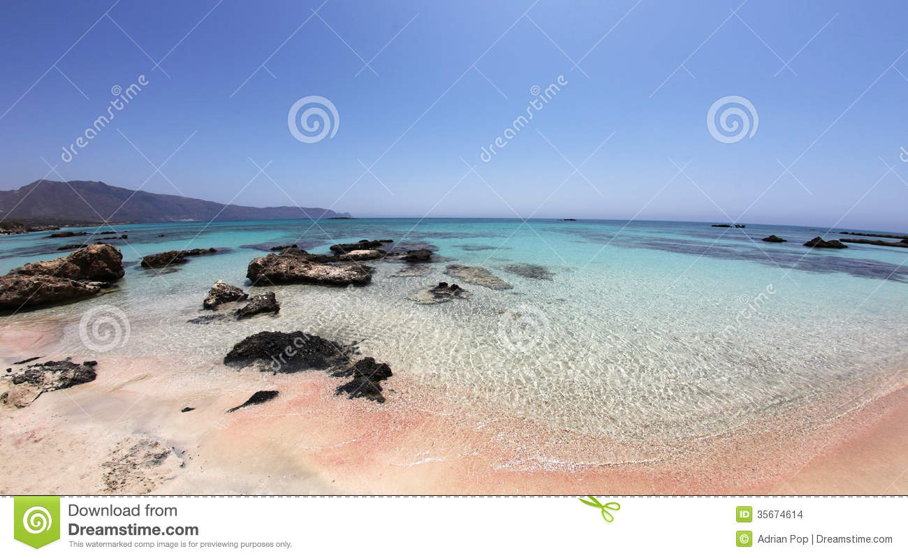 Download Amazing Tropical Beach With Pink