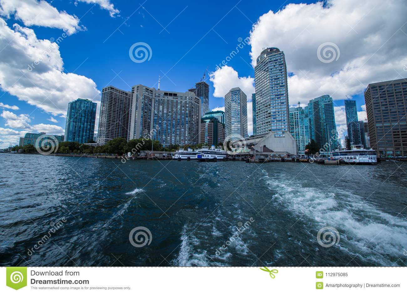 Amazing view of City of Toronto Ontario Canada