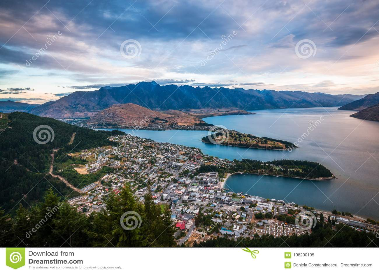 Queenstown Sunset View, New Zealand