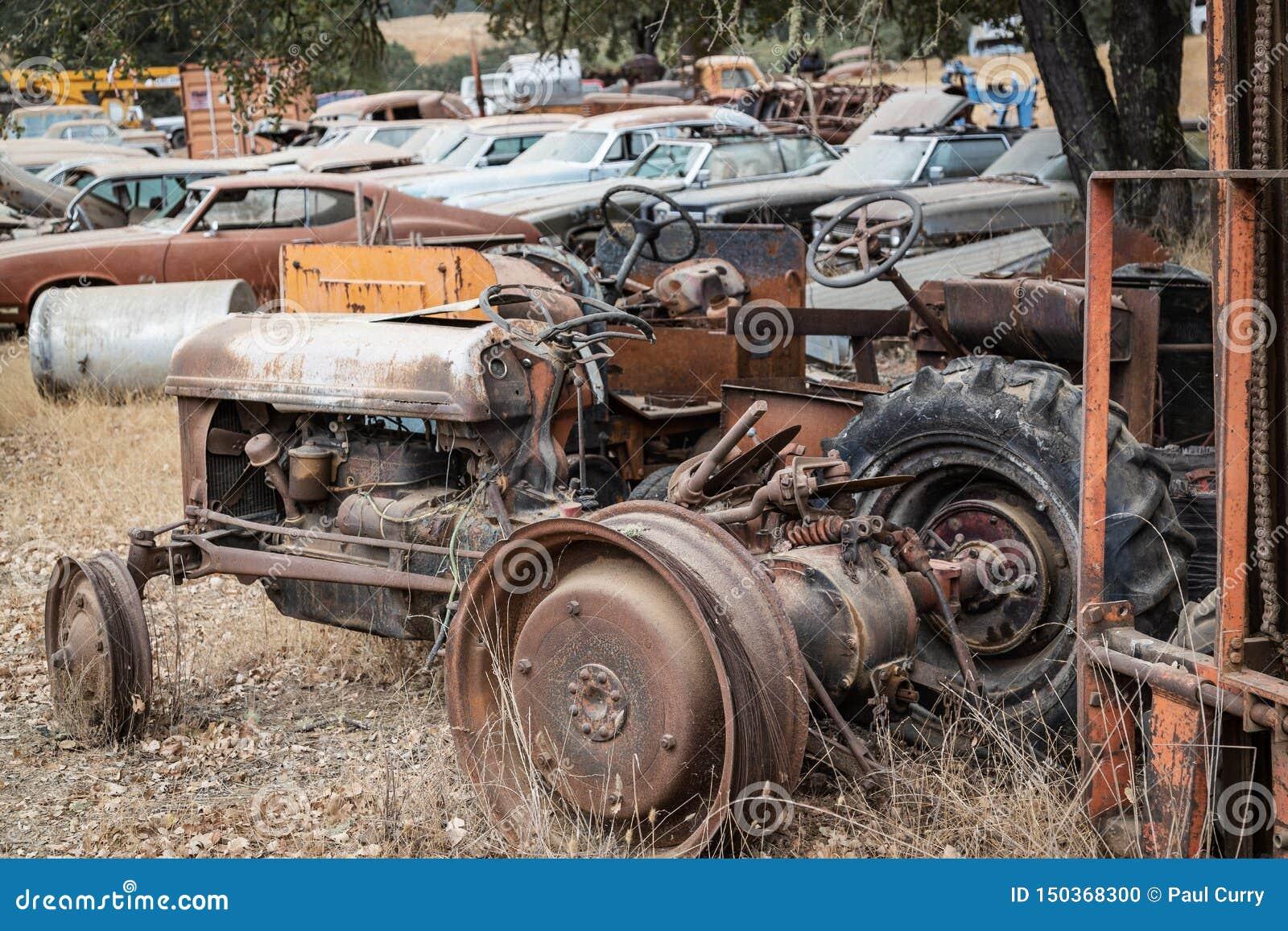 Junker Relics Ole Tractor & Scrap