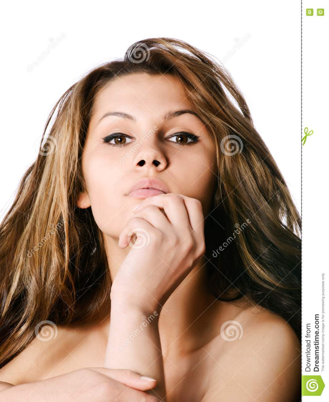Amazing Woman: Amazing Young Woman Stock Images