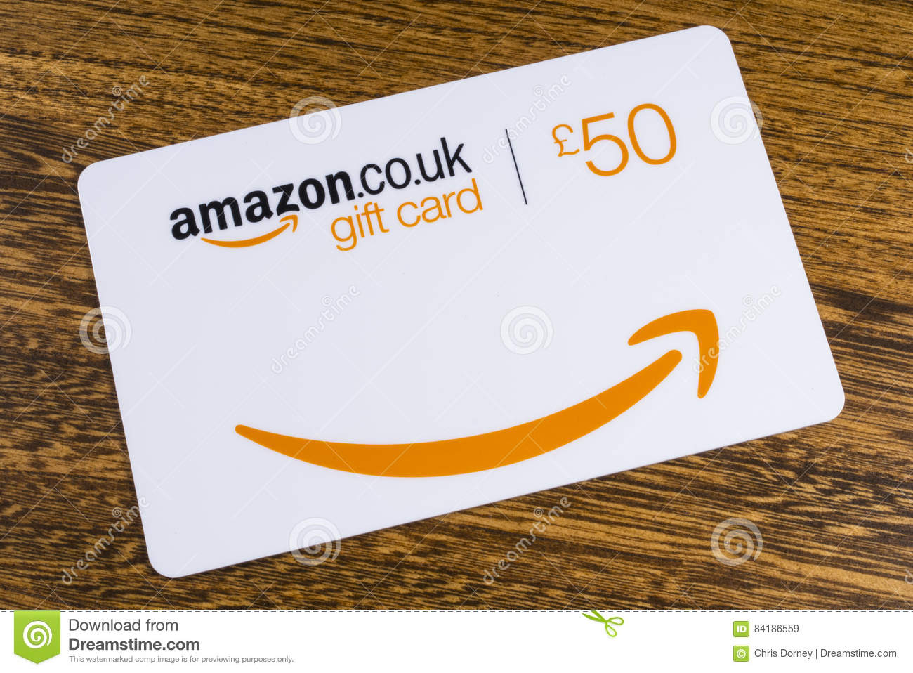 Amazon Gift Card Editorial Stock Image Image Of Shop 84186559