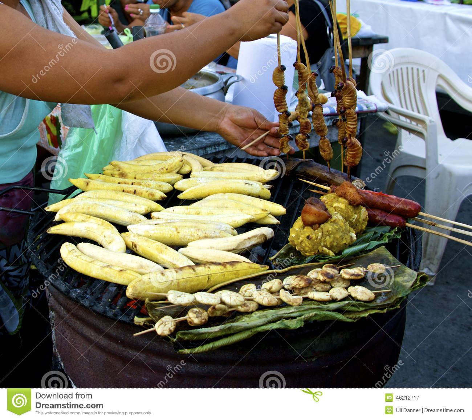 Amazon street food