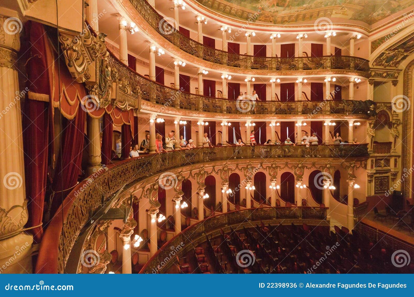 Amazonas Brazil Manaus theatre