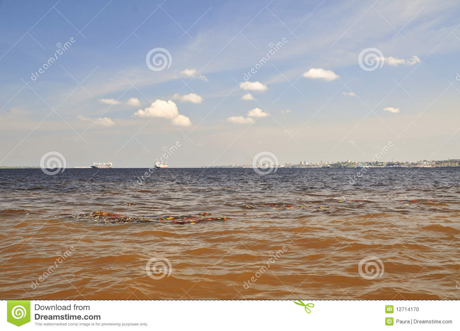 Amazonia spotkania zjawiska wody