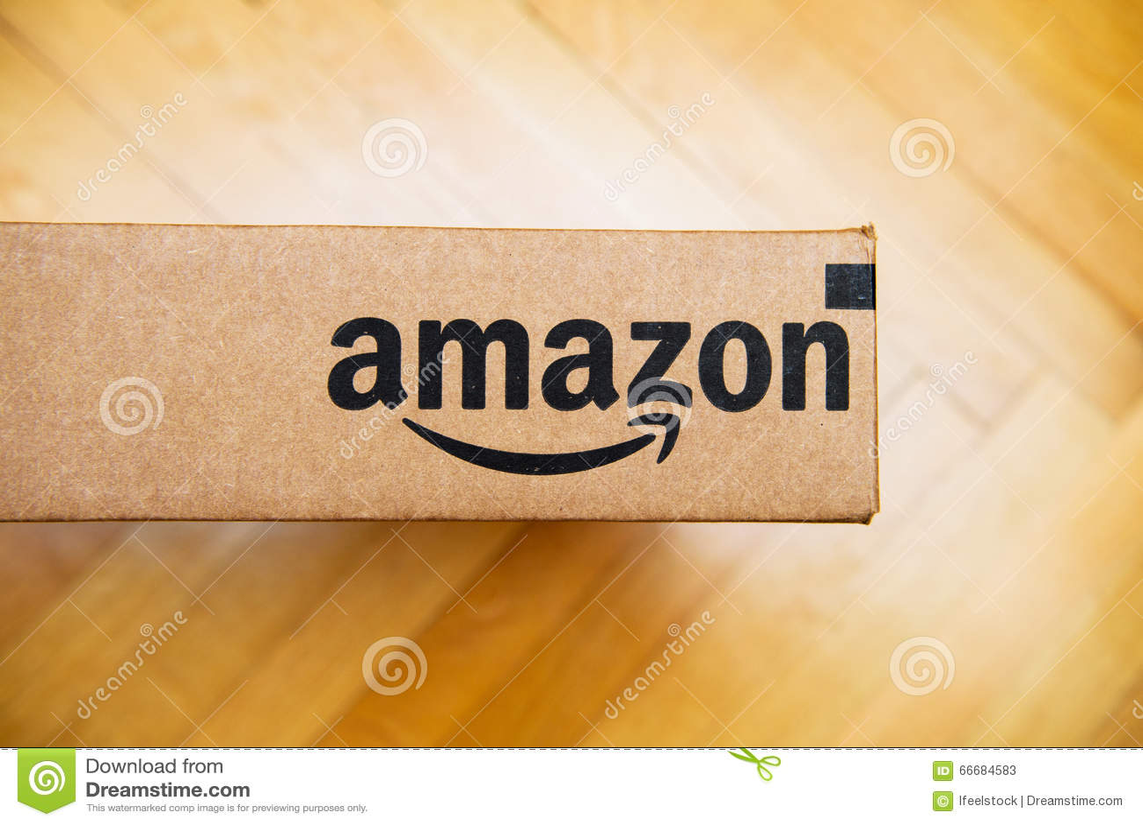 Amazonki pudełko widzieć od above
