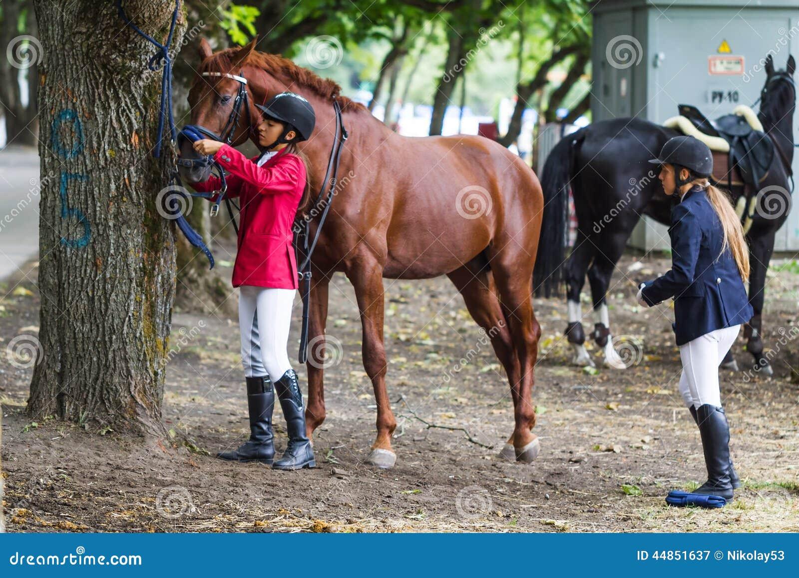 Amazzone e cavallo
