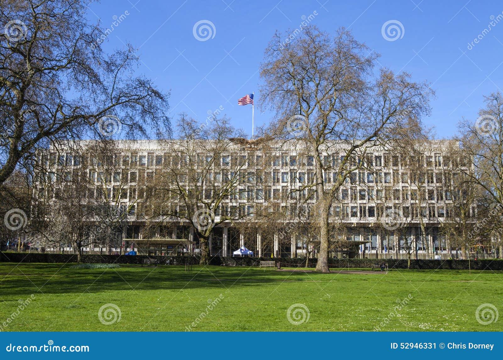 ambassade des usa londres photo ditorial image 52946331. Black Bedroom Furniture Sets. Home Design Ideas
