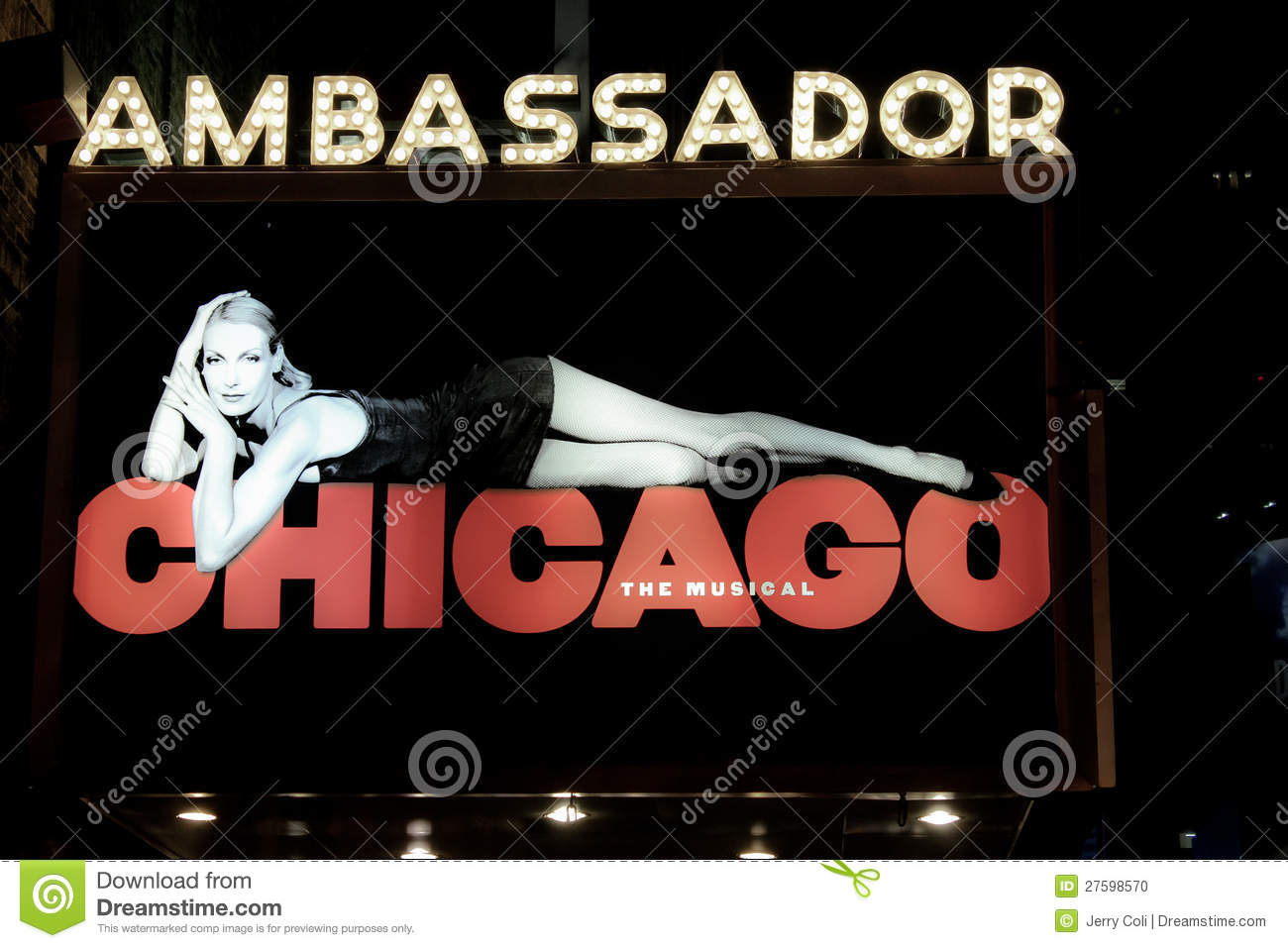 Ambassador Theater home of Chicago