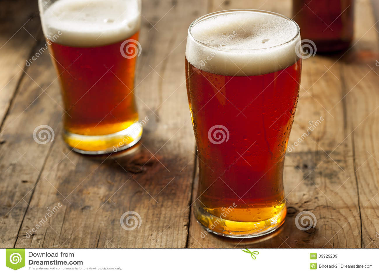 Amber Beer scura di rinfresco fresca
