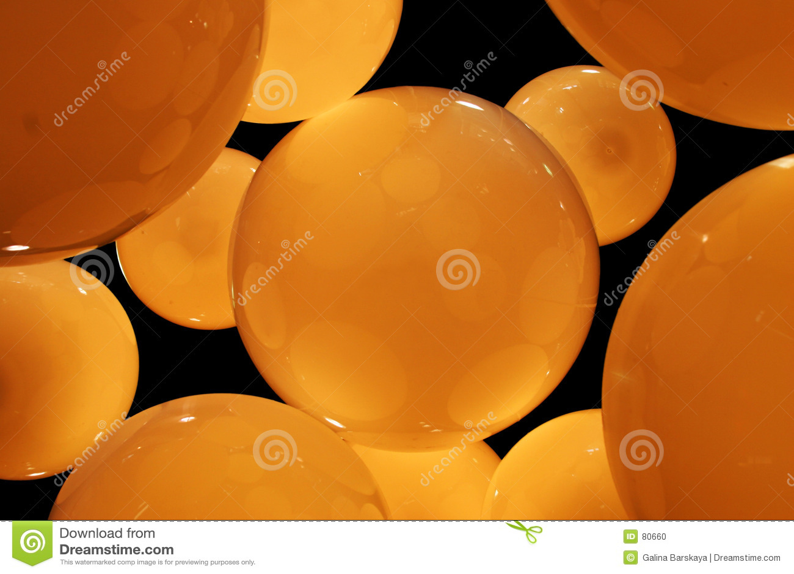 Amber circles