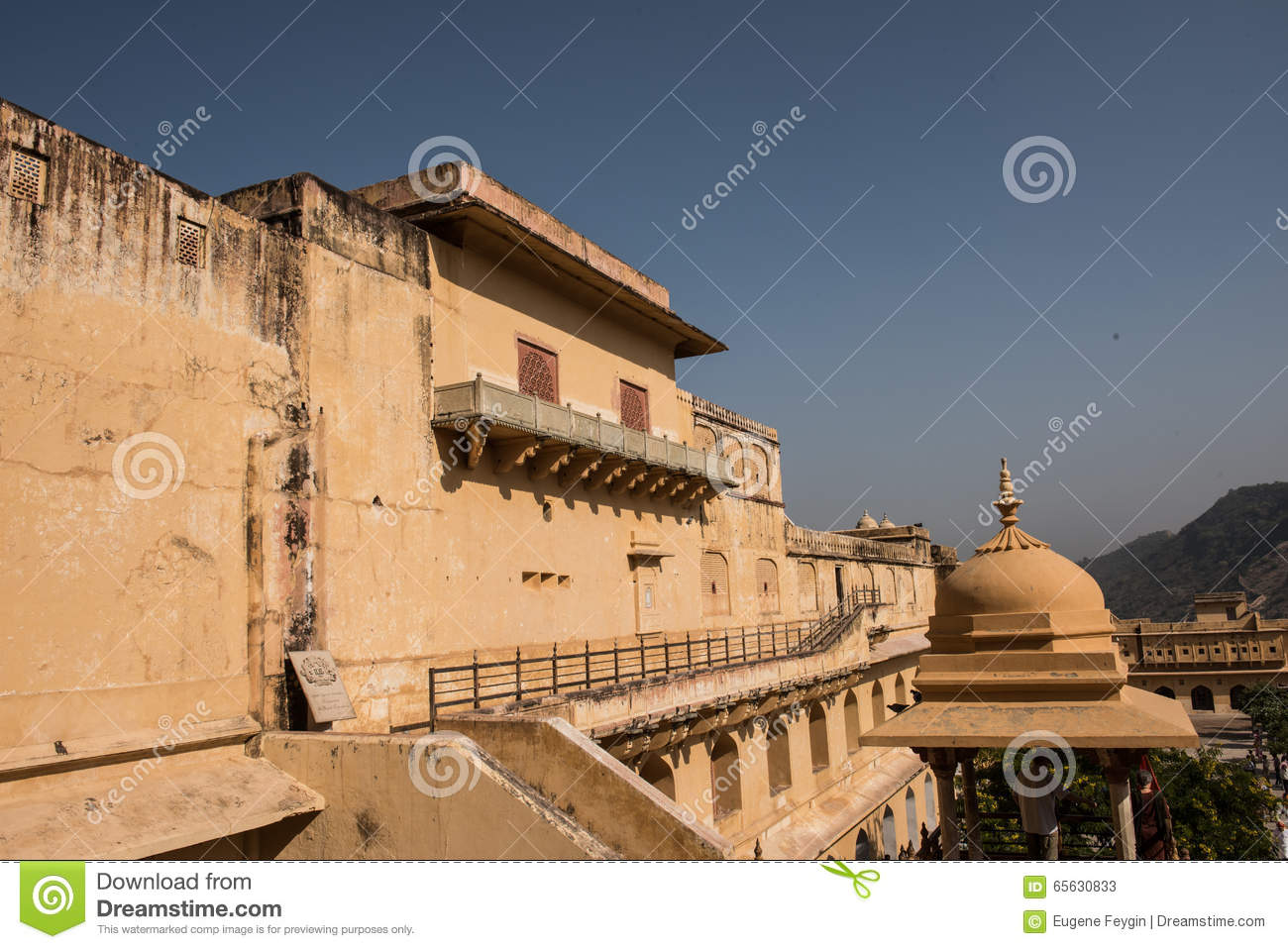 Amber Fort sur Sunny Day