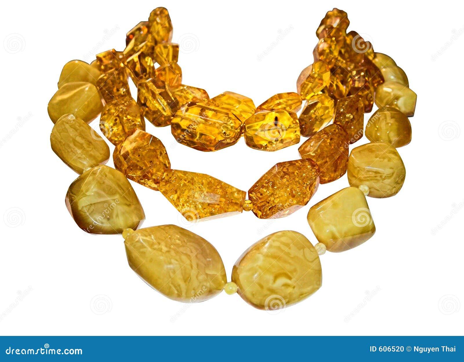 Amber halsbanden