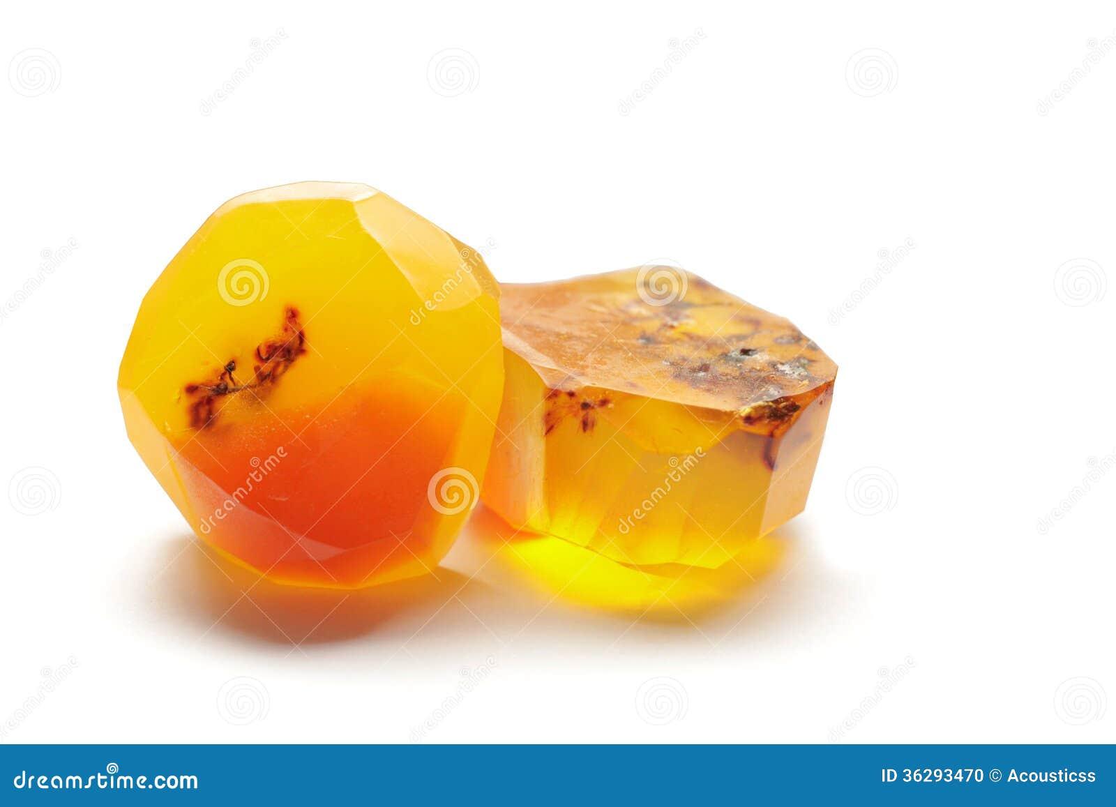 Amber Soap Rock handgjorda Gem Soap Stone