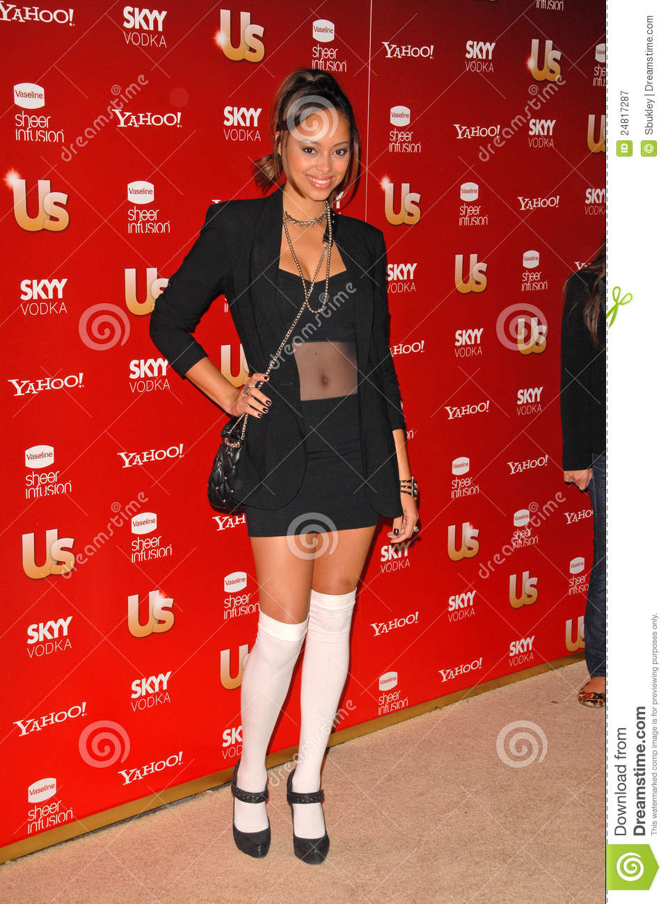 Amber Stevens At The Us Weekly Hot Hollywood Style 2009 Party Voyeur