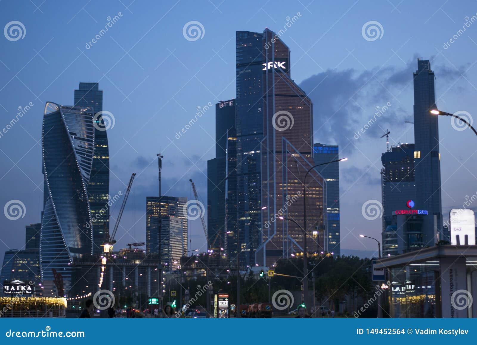 Ambientes de la ciudad de Mosc?