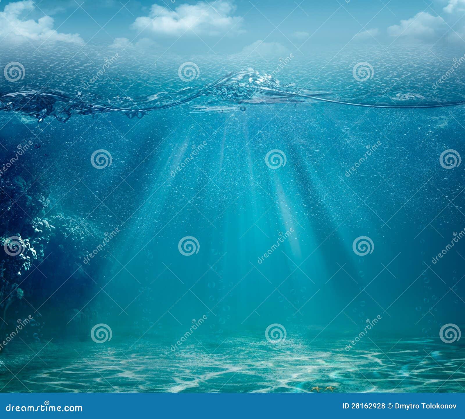 Ambiti di provenienza astratti dell oceano e del mare