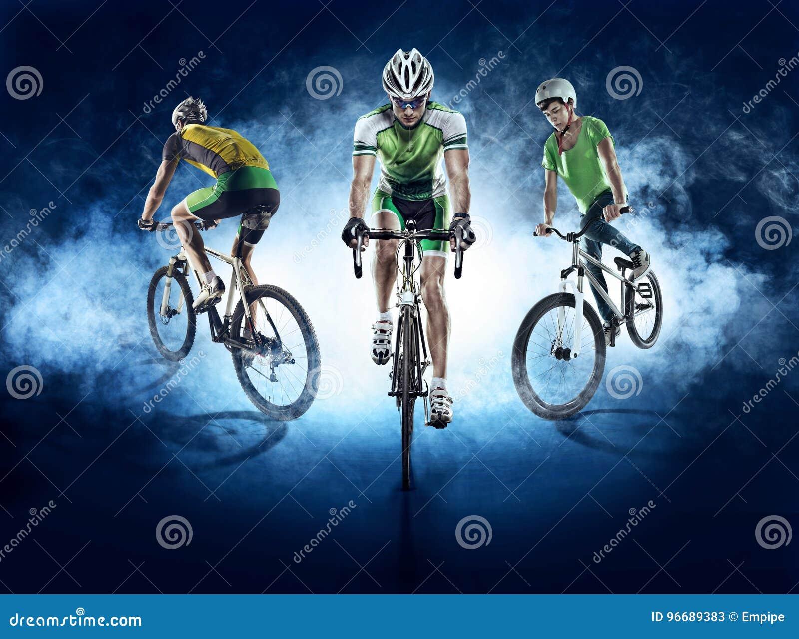Ambiti di provenienza di sport Ciclista isolato
