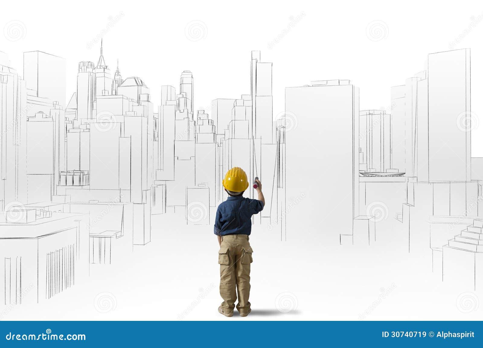 Ambitie van een jonge architect