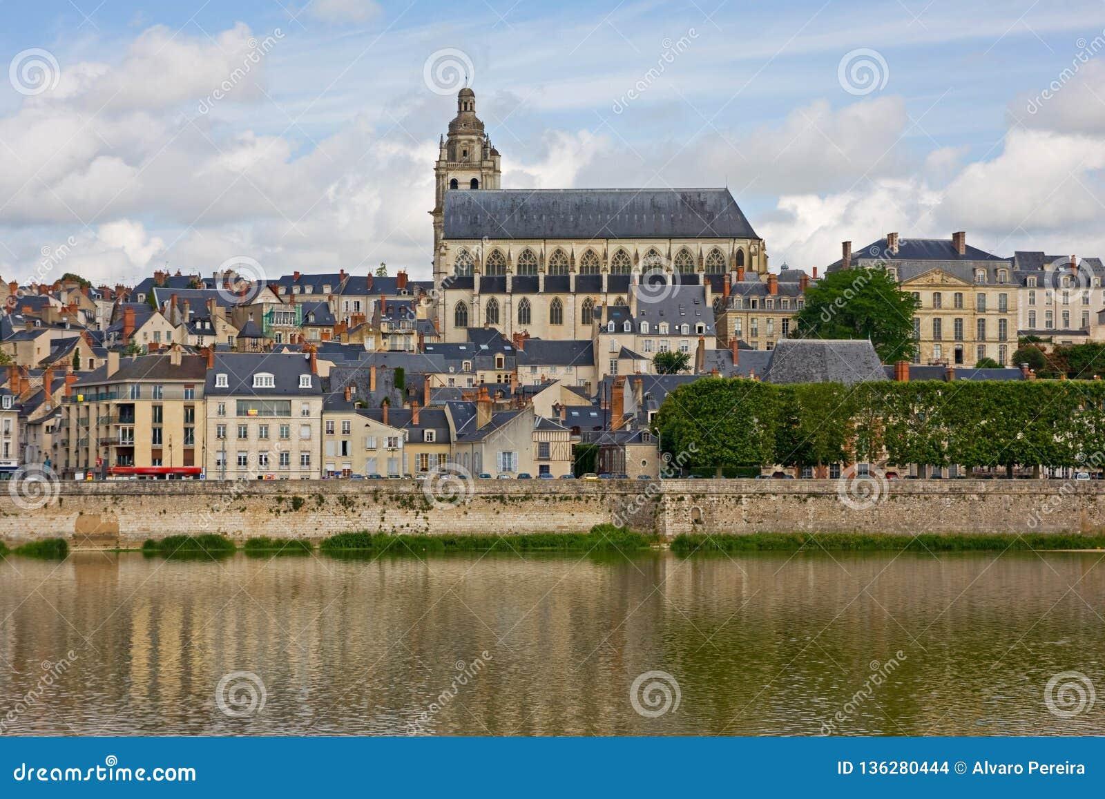 Amboise är en älskvärd stad i Frankrike
