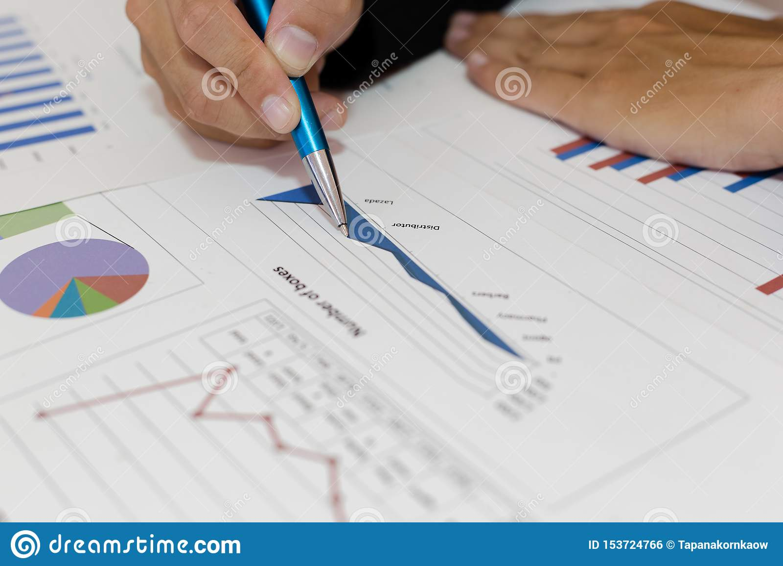 Ambos os contadores verificaram as finanças da empresa Verificaram o trabalho e o lucro da empresa a fim planejar para