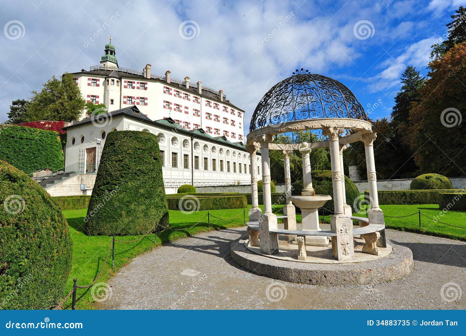Ambras castle in innsbruck royalty free stock photo for Interior design innsbruck