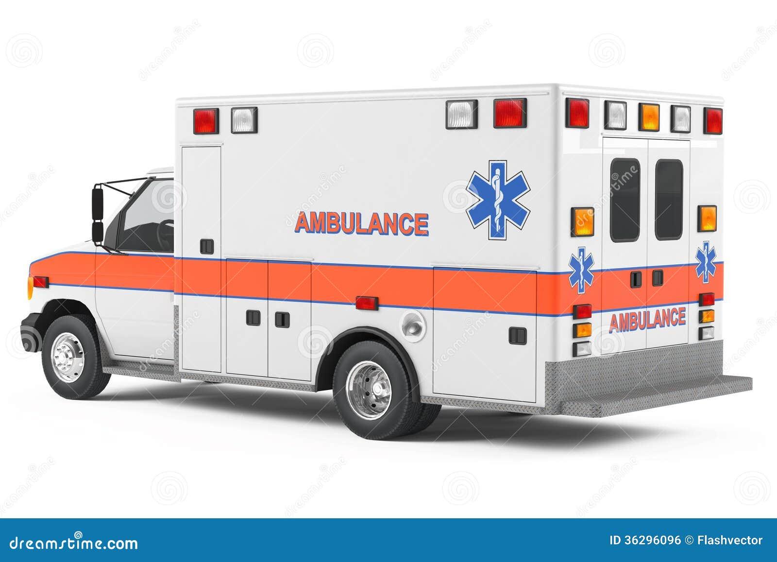 ambulance car back royalty free stock image image 36296096