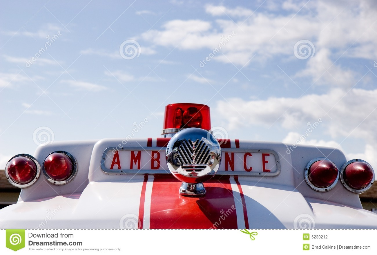 Ambulance Siren Stock Photo Image Of Chrome Rush Help
