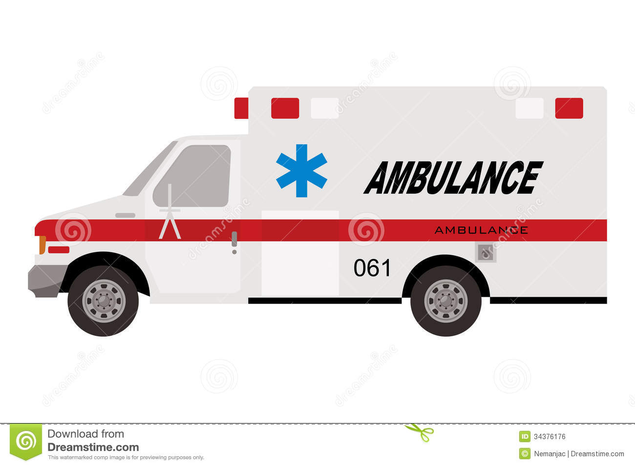 ambulance truck royalty free stock image image 34376176 car crash accident clipart car accident clipart black and white
