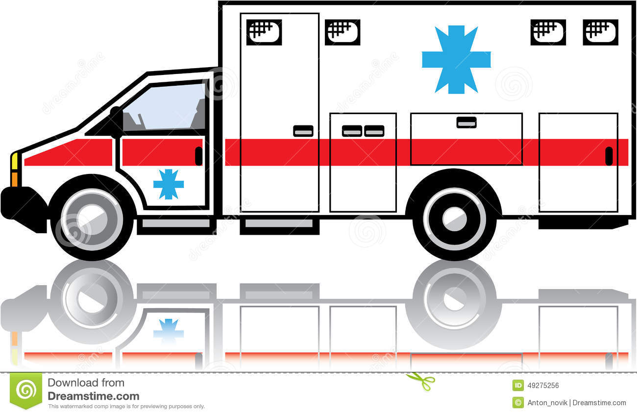 Ambulance Vector Stock Vector - Image: 49275256
