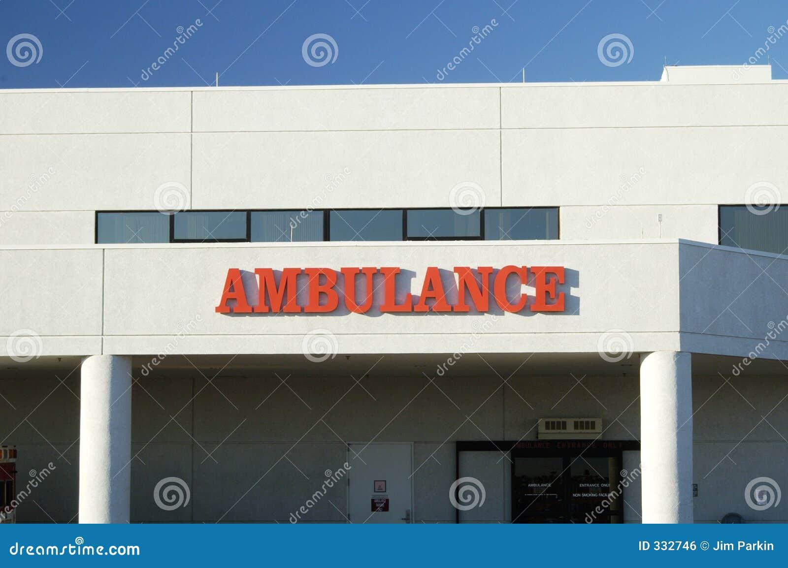 Ambulans wejścia