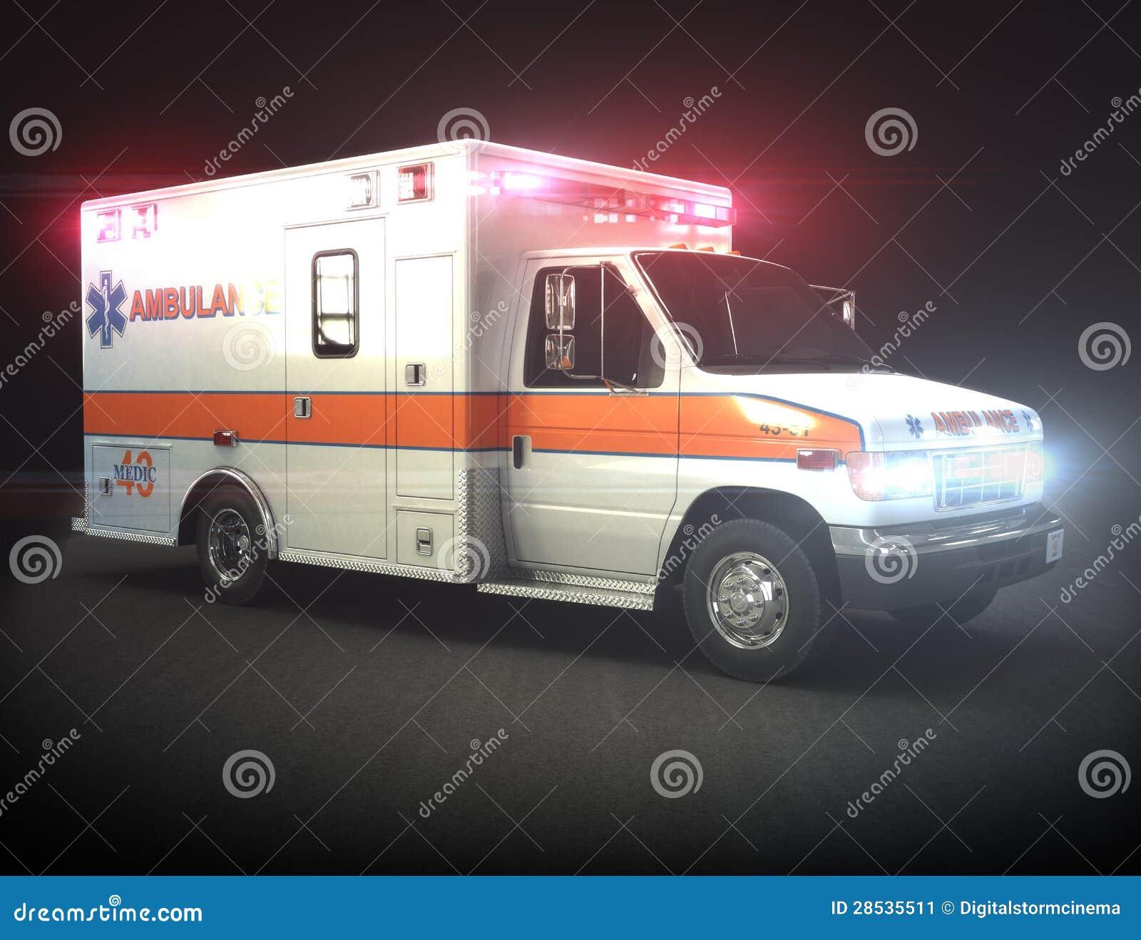 Ambulansen med tänder