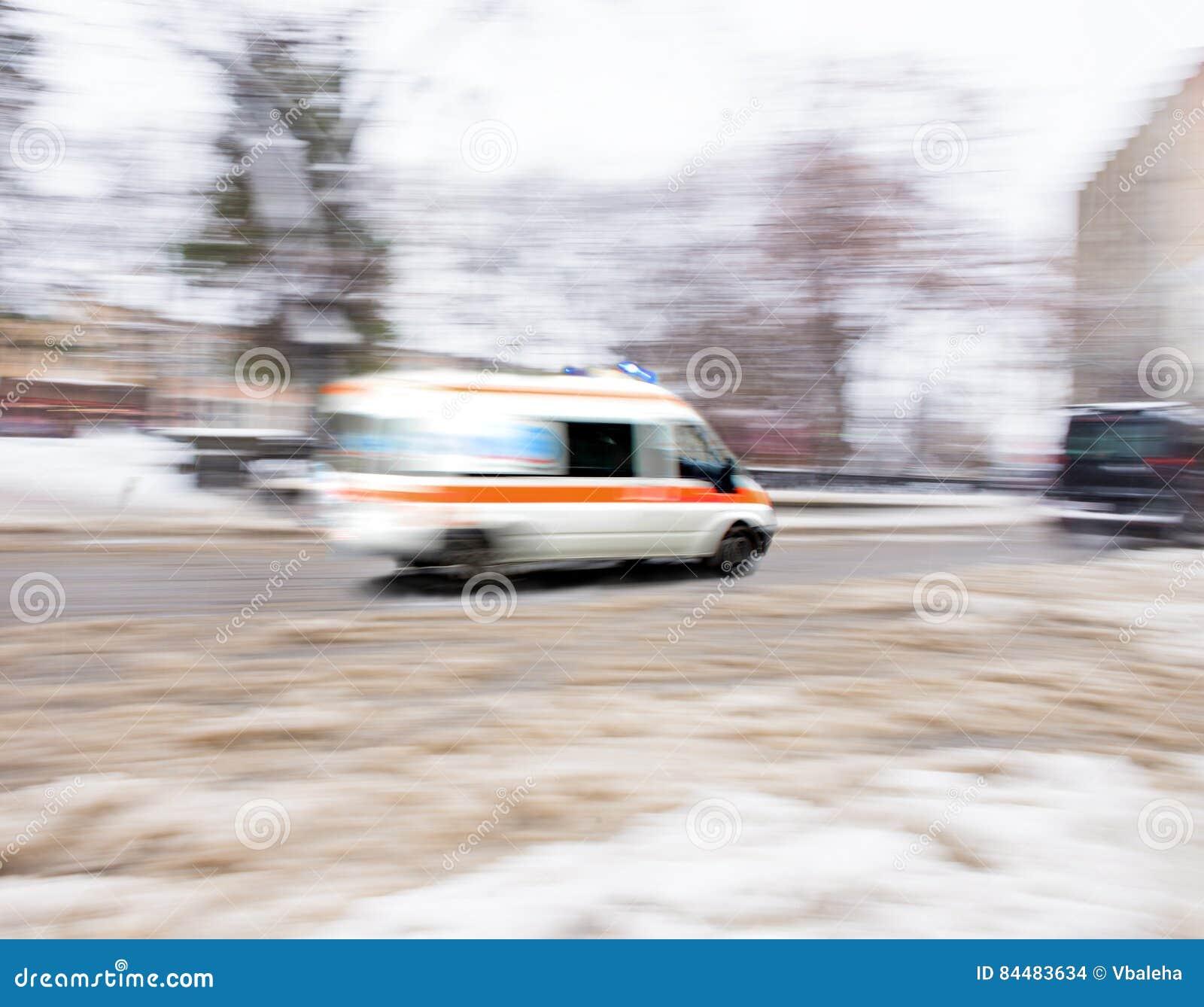Ambulanza nel movimento