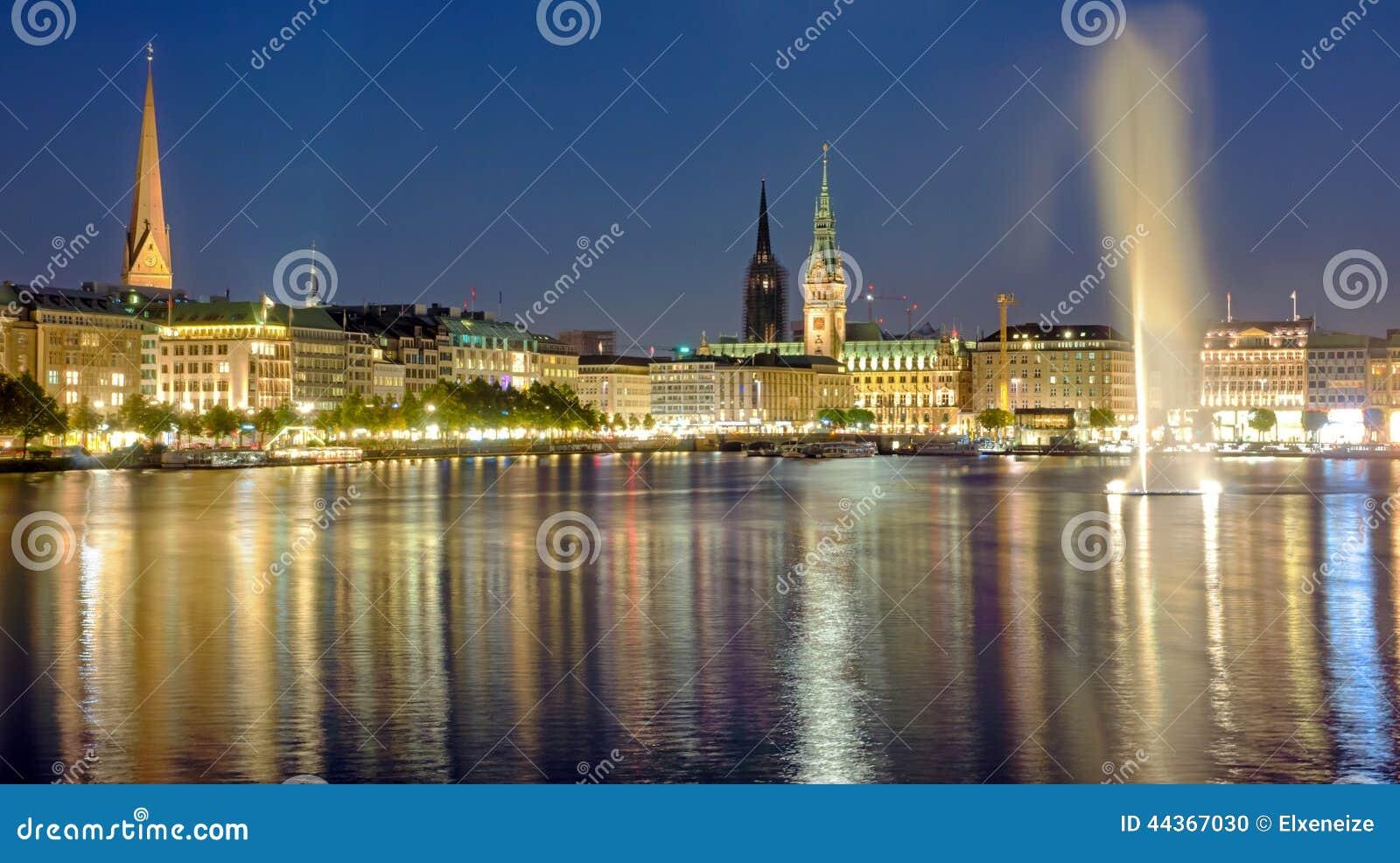 Amburgo alla notte