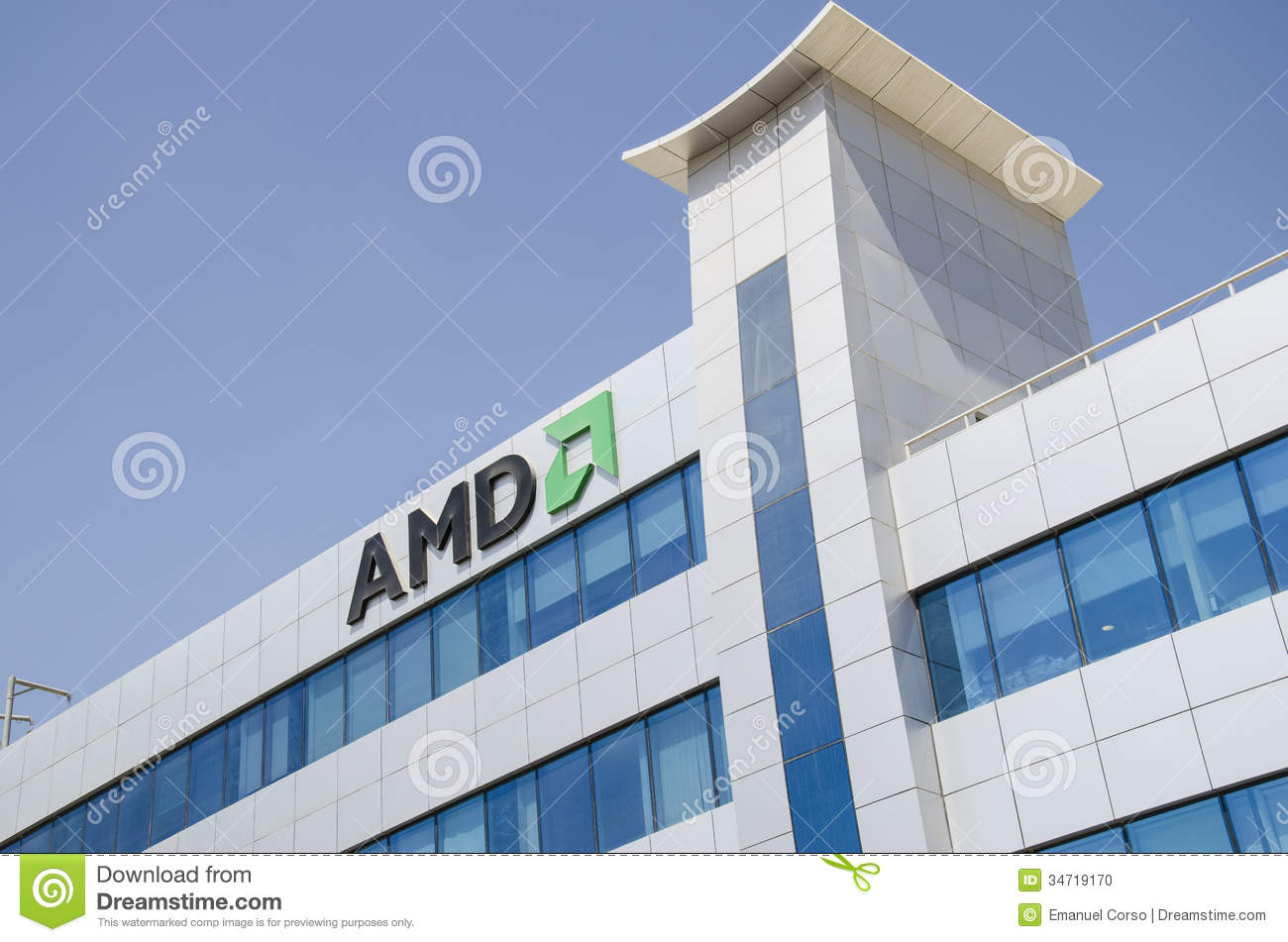 Amd Offices Editorial Image Image Of Architecture Landscape 34719170