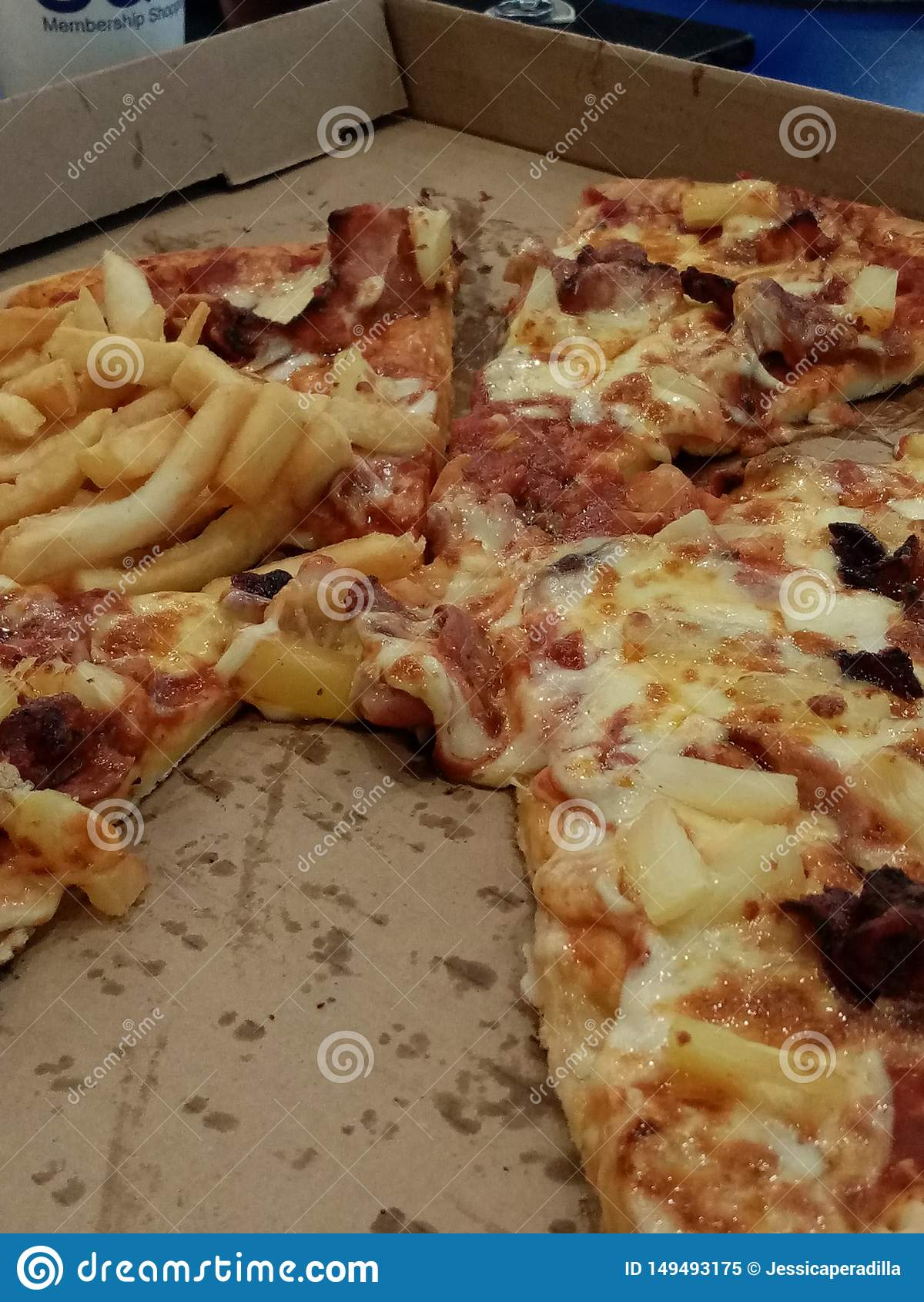 Ame la pizza pesada