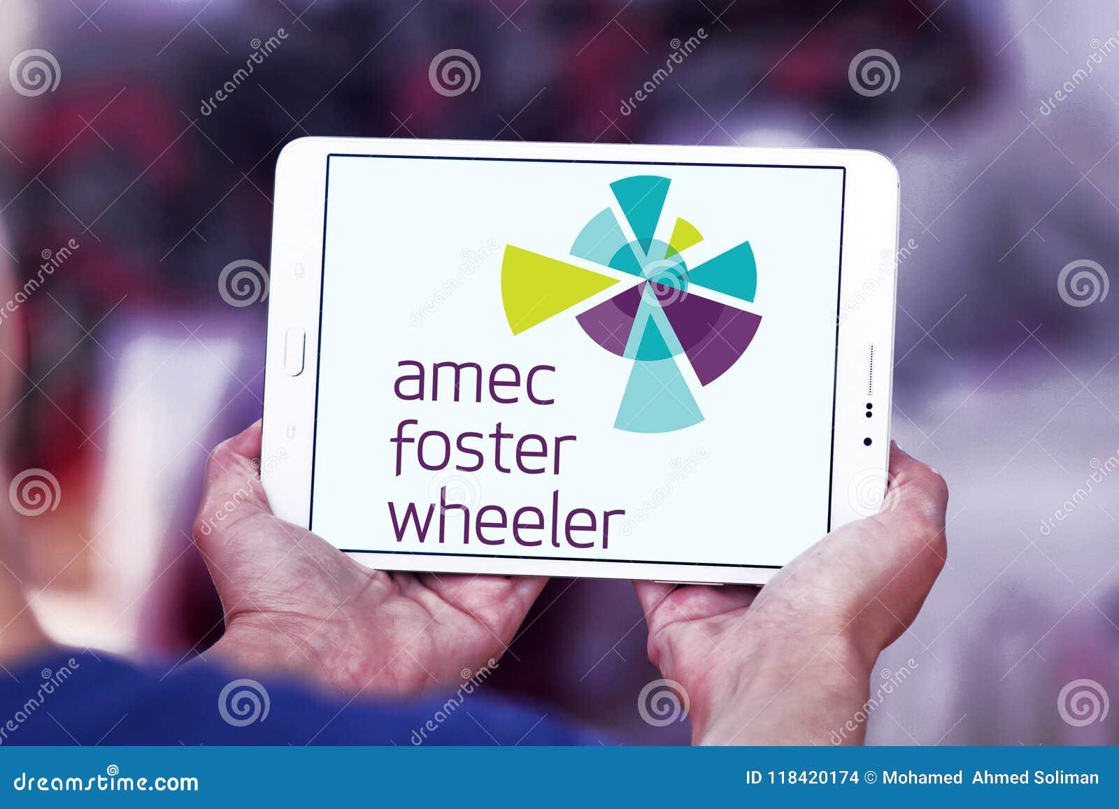Amec Foster Wheeler Consultancy, Engineering Company Logo Editorial