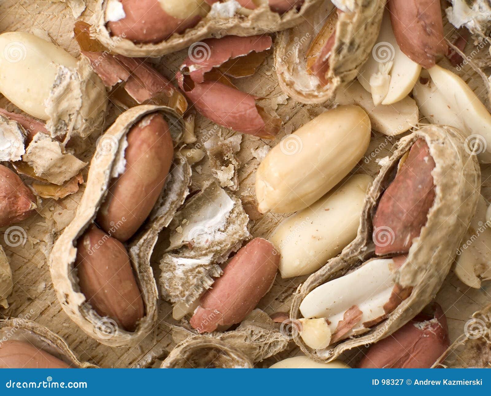 Amendoins e escudos