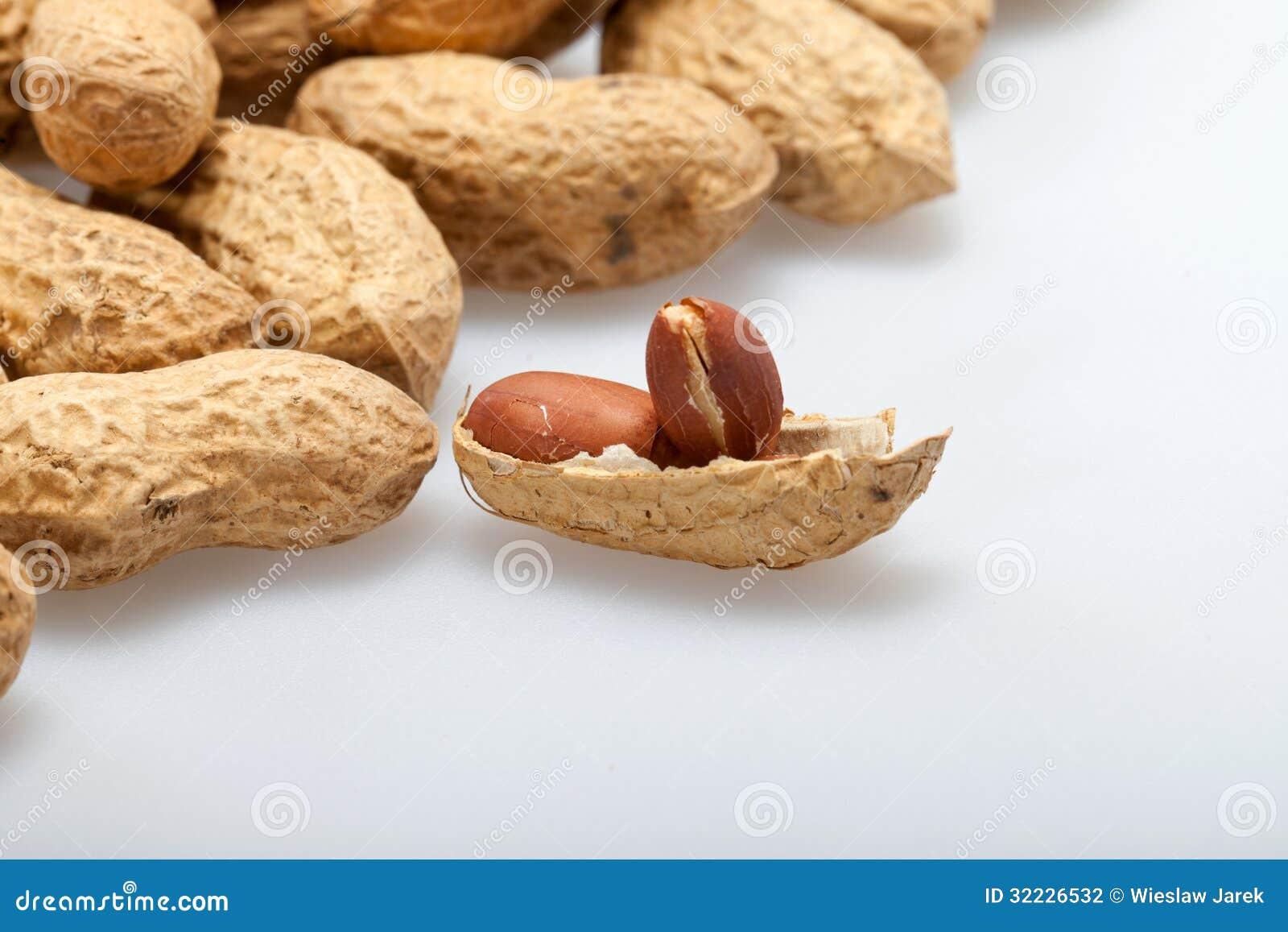 Download Amendoins secados foto de stock. Imagem de fundo, porca - 32226532