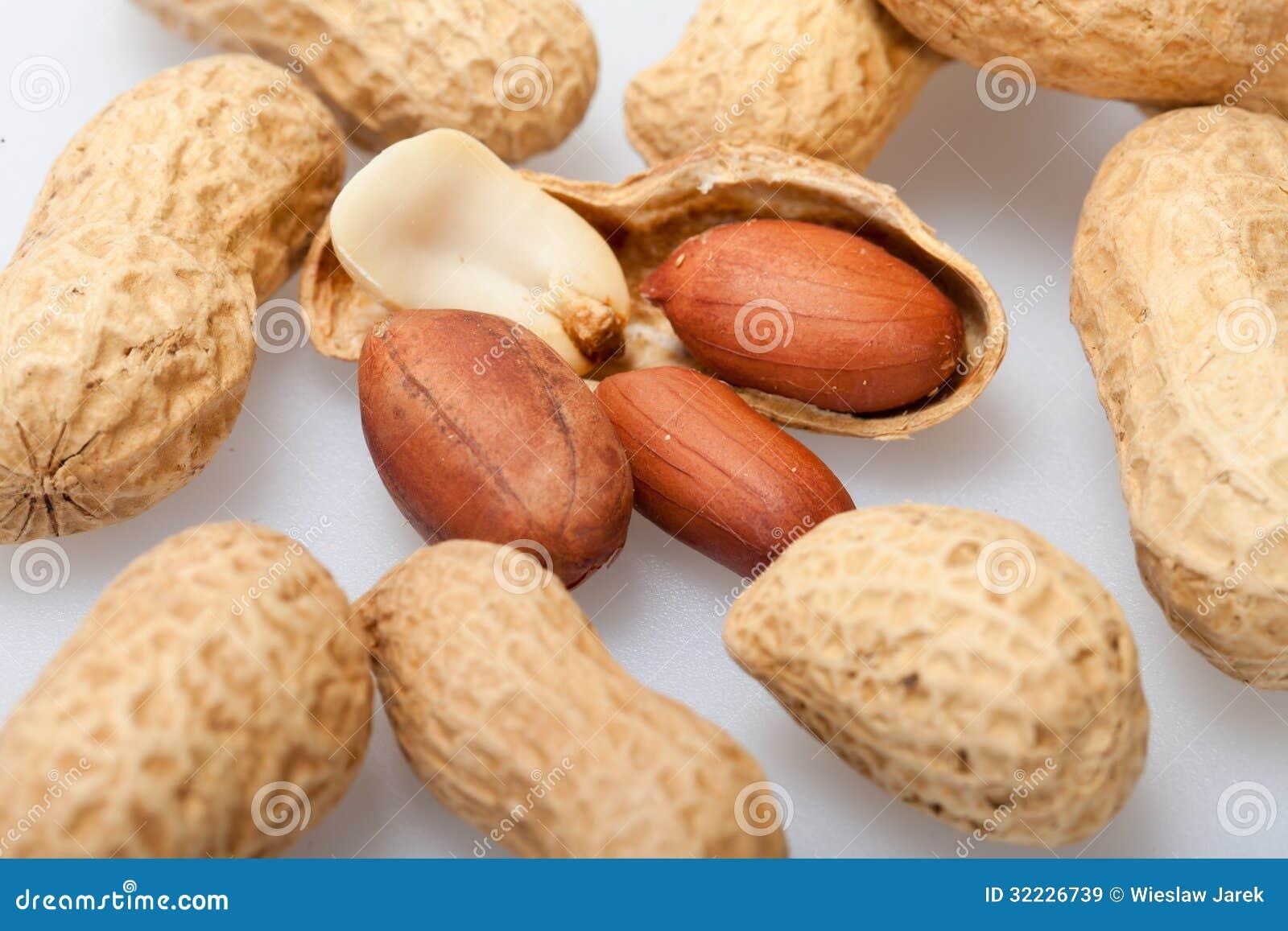 Download Amendoins secados imagem de stock. Imagem de alimento - 32226739