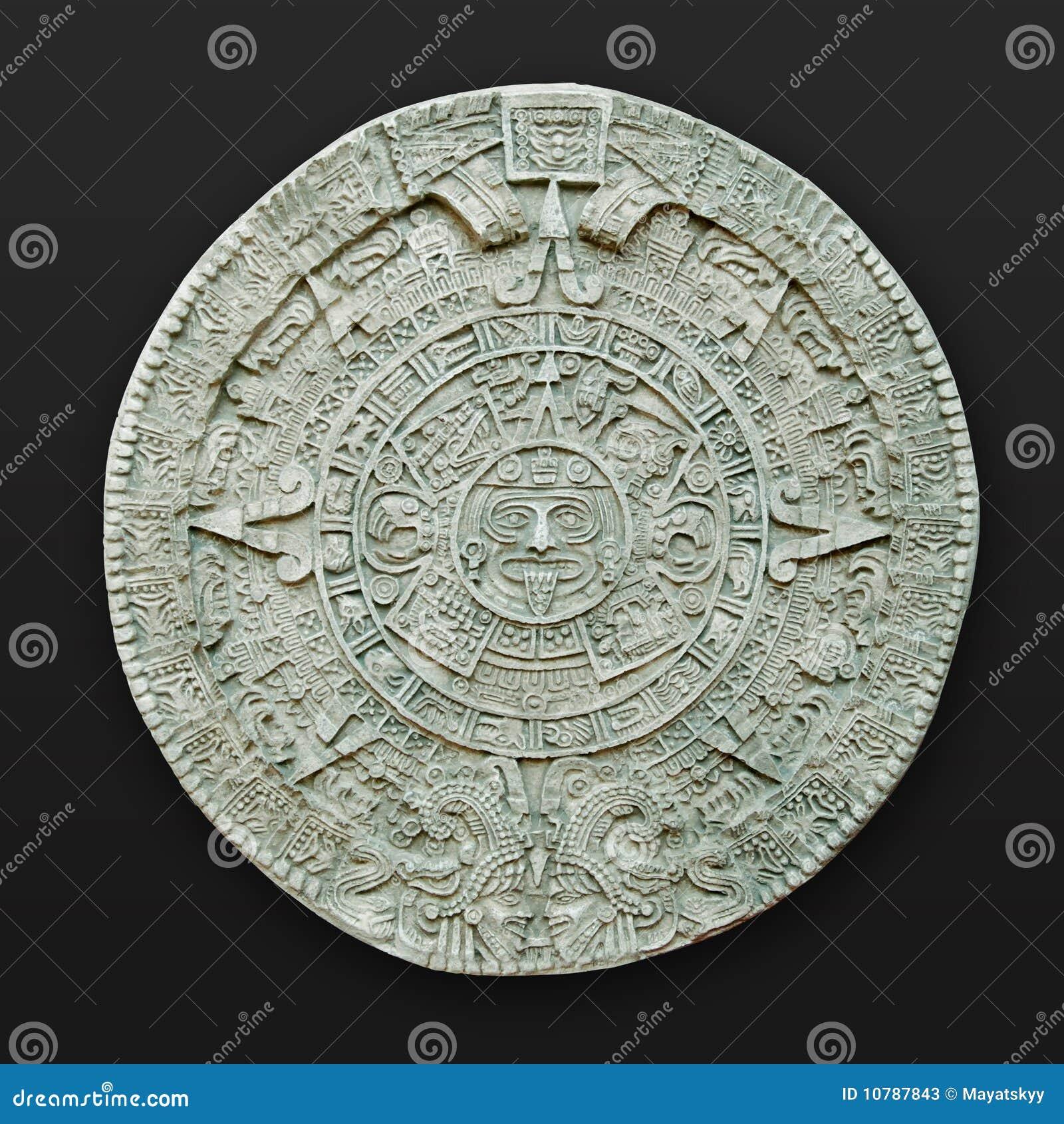 America aztec kalendarza latin