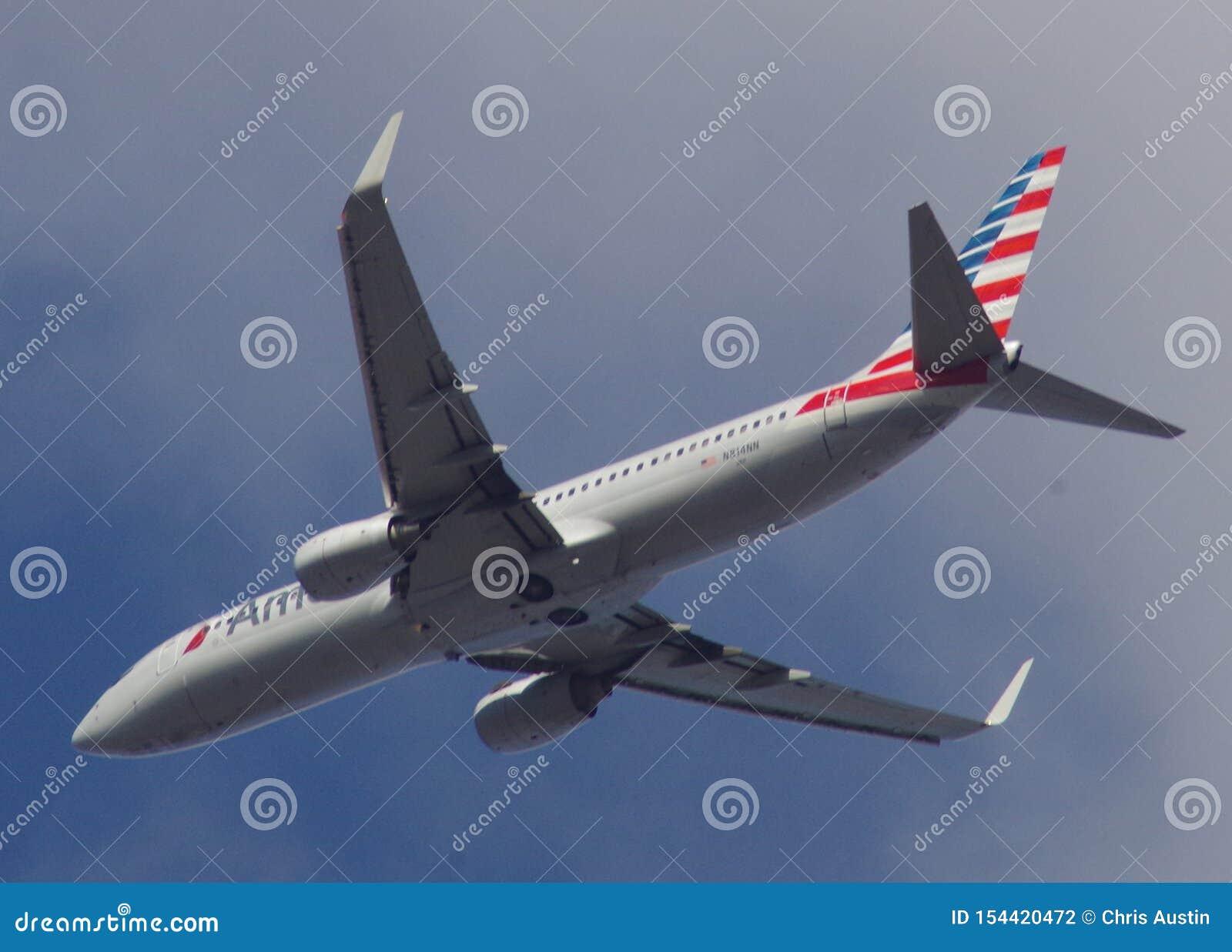 American Airlines 737-823 tvilling- motorflygplan