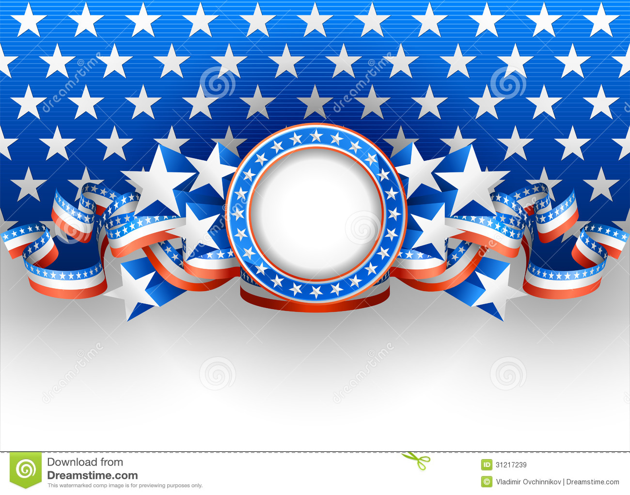 American Background Royalty Free Stock Images - Image: 31217239