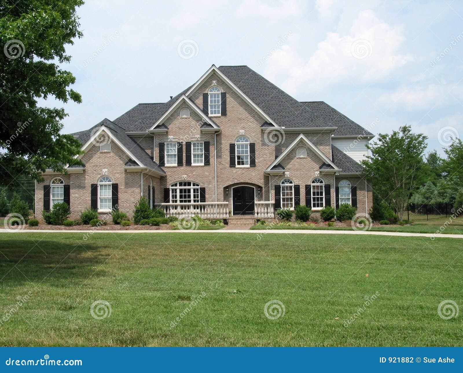 American Brick House Stock Photography Image 921882