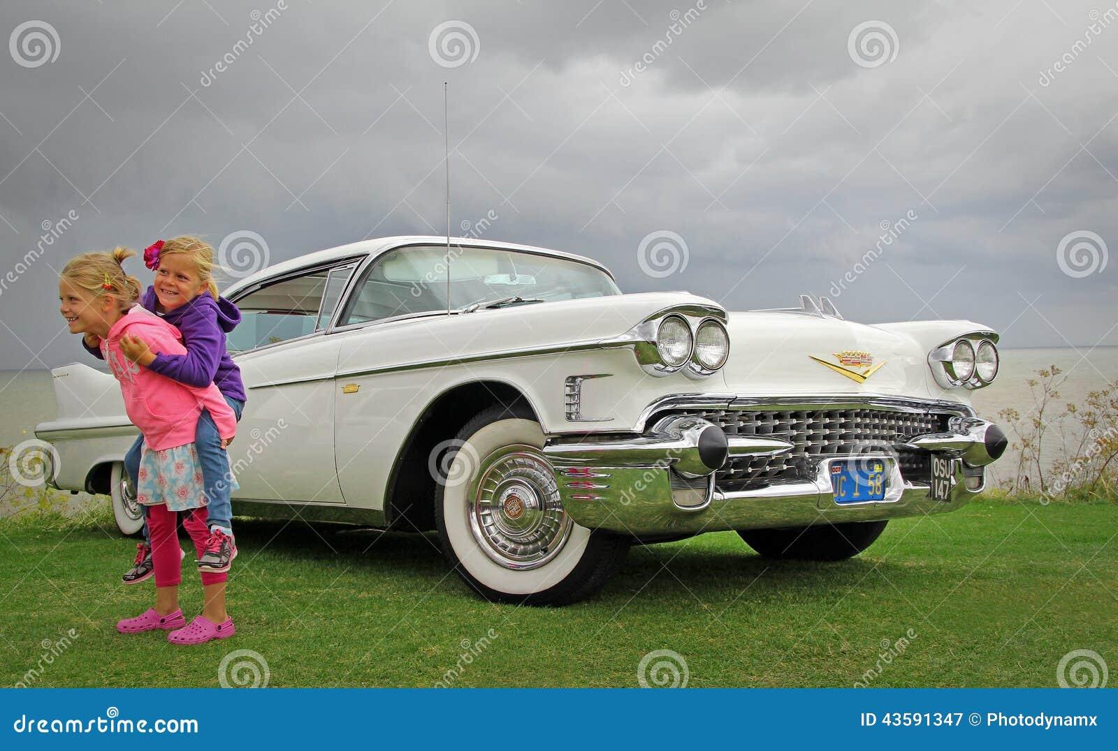 american cadillac car cars children