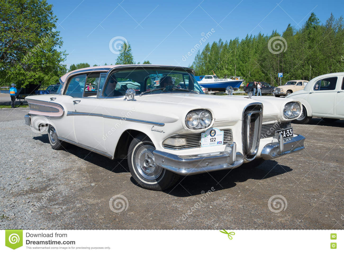 American Car Edsel Citation 1958 Model Year On The Parade Of ...