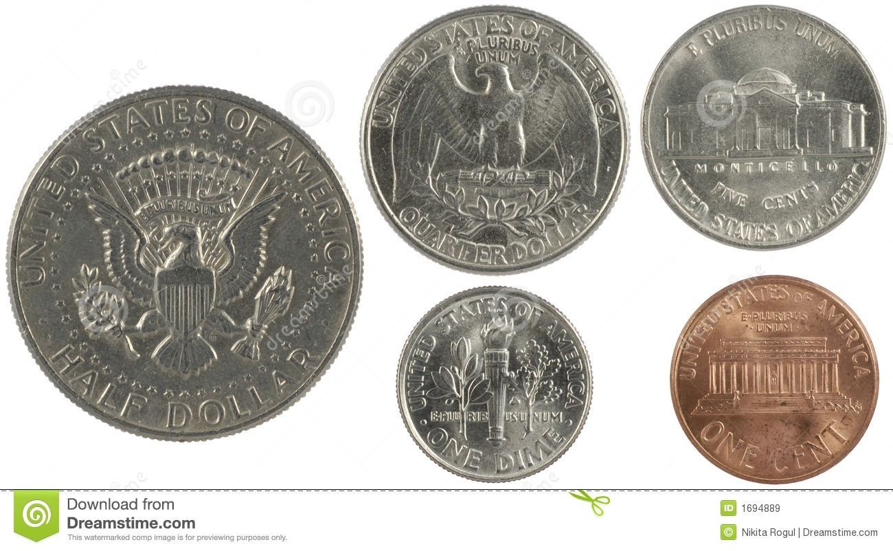 American Cents Royalty Free Stock Images - Image: 1694889