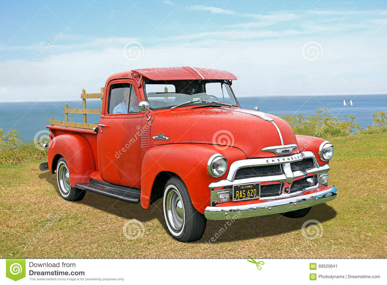 American Chevrolet 3100 Truck Editorial Photo - Image of wall, show ...